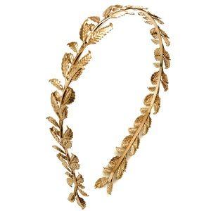 🎁 Gold Goddess Headband